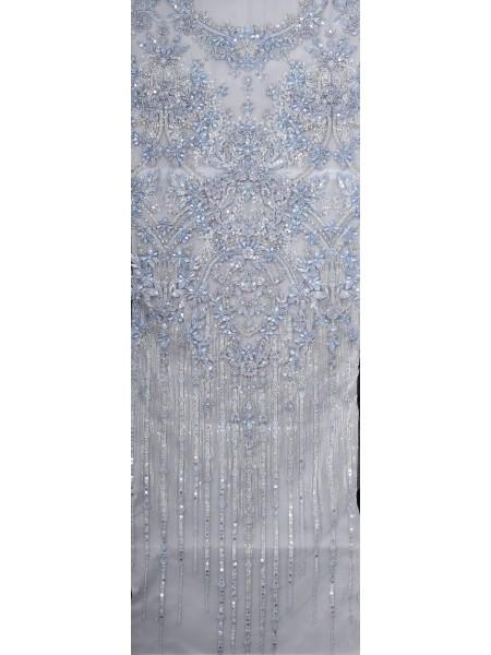 Гип 8617-4 /8 С#1 голубой